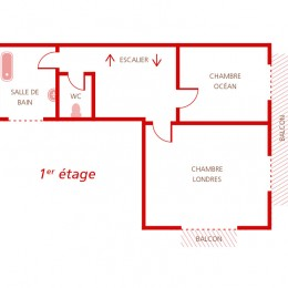 Plan du 1 er étage