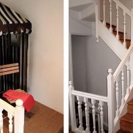 L'escalier et le palier
