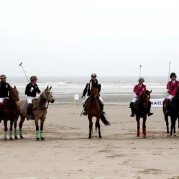 Polo sur la plage du Touquet
