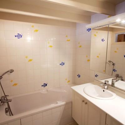 Salle de bains de la chambre La Mode