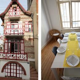 La façade et la salle à manger